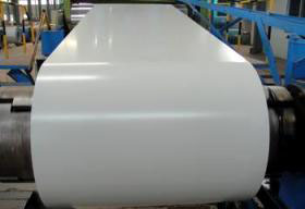 Prepainted steel coil and sheet